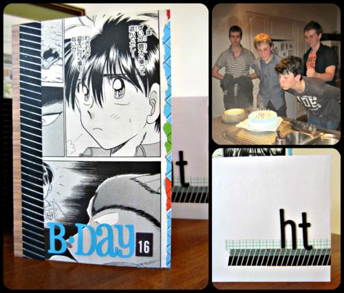 Haz birthday collage