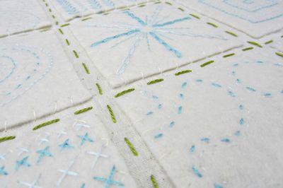 Felt stitch sampler 01